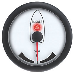 "3-3/8"" Rudder Angle Indicator - 12-24V DC"