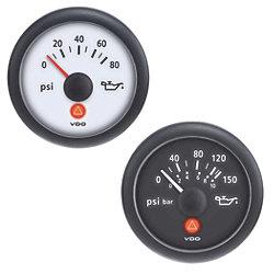 """2-1/16"""" Oil Pressure Gauge and Sender Kits"""