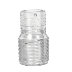 Clear View Hose Adapters - Straight