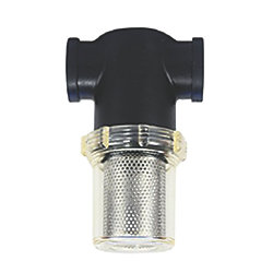 "T-150 Raw Water Strainer - 1-1/2"" Female Straight Thread Ports"