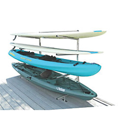 Kayak & Paddleboard Storage Rack - Dock Mounted