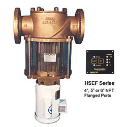 HSEF Hydromatic Electric Self-Cleaing Flanged Raw Water Strainers