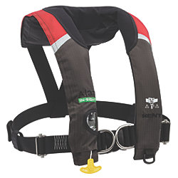 A-33 In-Sight Automatic Inflatable Life Jacket - with Harness