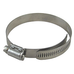 Discontinued: 316 SS Breeze Aero-Seal Lined Hose Clamps