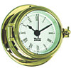 Endurance II 105 Quartz Clock - Brass with Roman Numerals