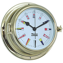Endurance II 135 Quartz Clock 12 Hour Flag Dial