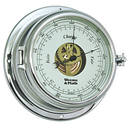 Endurance II 135 Open Dial Chrome Barometer