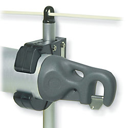 2-1/2IN STANCHION MOUNT POLE CHOCK