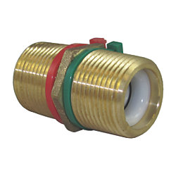 Bronze Pipe Nipple Spring Check Valve