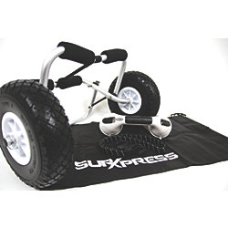 SUP Xpress Carrier Wheels with SUP Suction Grip