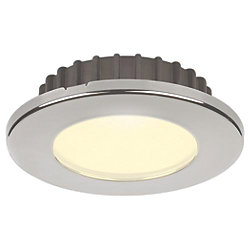 "Discontinued: 2-7/8"" Hatteras PowerLED Recessed SS Flood Light"