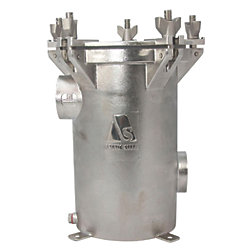 Arctic Steel Raw Water Strainer - Female Side Inlet/Female Side Outlet