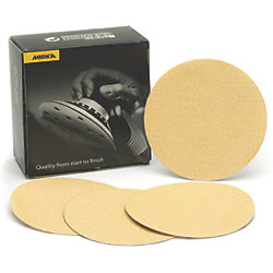 "Bulldog Gold 6"" Grip Sanding Discs"