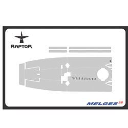 Raptor 6 mm Premium One-Design Floor Grip Kits