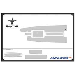 No Longer Available: Raptor 6 mm Premium One-Design Floor Grip Kits