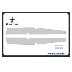 No Longer Available: Raptor 5 mm Economy One-Design Floor Grip Kits