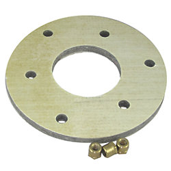 Backing Block Mounting Adapter for Flanged Seacocks