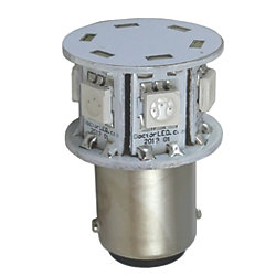 Nav Bulb - Hex GE90 LED Bulb - Green - 2 NM