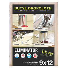 """Eliminator"" Heavy Duty Coated Dropcloth"