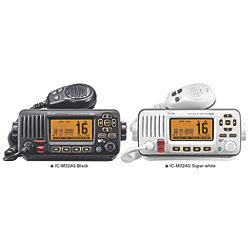 IC-M324 Series VHF Marine Transceiver - with Built-In GPS