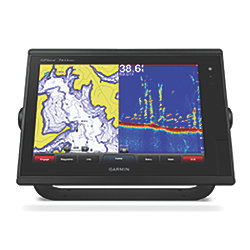 "GPSMAP 7610xsv - 10"" Multi-Touch Widescreen Chartplotter + Sonar Combo"