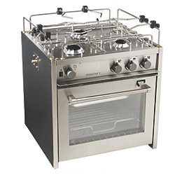 "20"" OceanChef 3-Burner Marine Gas Stoves"