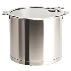 Strate 7.5 Qt. Stockpot with Glass Lid