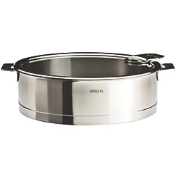 Strate Saute Pan with Glass Lid - 2, 3 or 3.5 Qt.