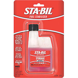 Storage - Concentrated Fuel Stabilizer for Gasoline