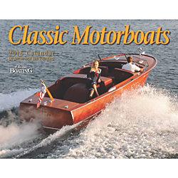 Classic Motorboats 2016 Calendar