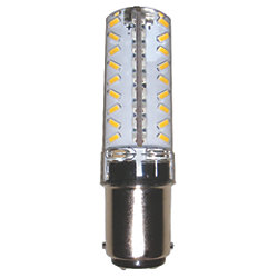 LED 120 Volt Polar Star 40 Mark II Navigation Light Bulb - 3 NM, Non-Indexed Base, White