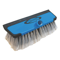 Combination Soft Bristle Brush & Squeegee