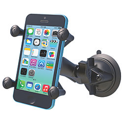 Universal X-Grip Cell-iPhone Cradle