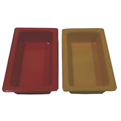 Gastronorm 1/4 Size Ceramic Baking/Serving Dishes