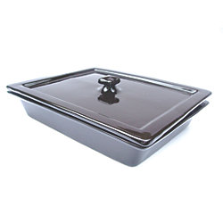 Gastronorm 1/2 Size Ceramic Baking/Serving Dish Lids