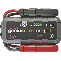 Genius Boost Plus Jump Starter - From 400 to 4,000 Amps