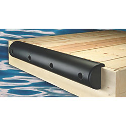 "Medium Lipped Heavy Duty Dock Bumpers - 7-1/2"" Height"