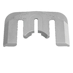 Mercury Bravo E-Plate Quick-Change Replacement Anode - Aluminum