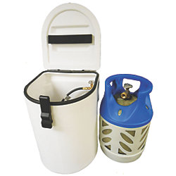 Roto Molded LPG Cylinder Locker - Fully Rigged plus Tank
