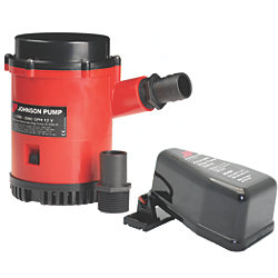 2200 GPH Heavy Duty Bilge Pump w/Float Switch