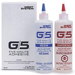 2-PT KIT G5 5MIN EPOXY (QT)