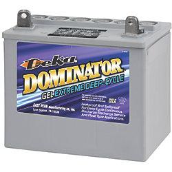 12V Group U1 Gel Deep Cycle Battery - 31 Ah, 215 CCA