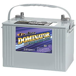 12V Group 27 Deep Cycle Gel Battery - 86 Ah, 505 CCA