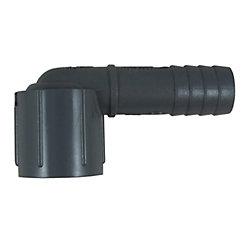 1/2IN FNPT PVC 90DEG ELBOW 3/4IN BARB