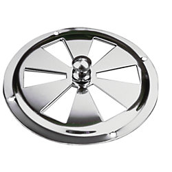 STAINLESS BUTTERFLY VENT 4IN