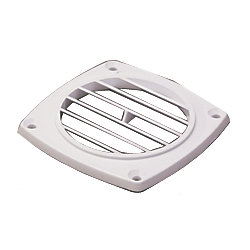 ABS HOSE VENT  FLUSH WHITE