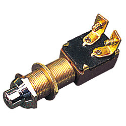 BRASS PUSH BUTTON SWITCH