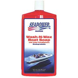 QT. WASH-N-SHINE BOAT SOAP