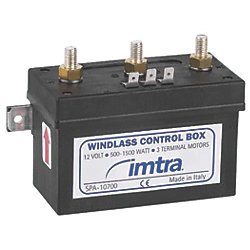 WINDLASS CONTROL BOX LEW MXW LOF