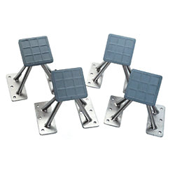SET OF 4 UNIVERSAL DINGY CHOCKS 6IN